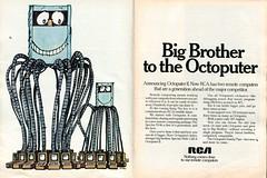 1969 RCA Octoputer II Spectra Advertisement Newsweek October 13 1969 (SenseiAlan) Tags: 1969 october advertisement ii spectra 13 newsweek rca octoputer
