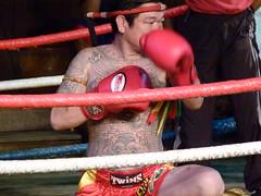 Muay Thai Boxer (2) (Jinky Dabon) Tags: sports thailand ring muaythai bouts muaythaiboxer