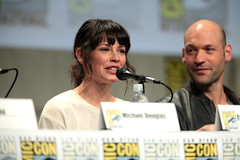 Evangeline Lilly & Corey Stoll (Gage Skidmore) Tags: california man reed paul michael san comic ant diego center corey lilly convention douglas con peyton evangeline rudd 2014 stoll antman