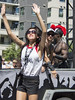 "Vancouver Pride Parade 2014 - 0282 (gherringer) Tags: summer music canada sunglasses vancouver fun happy dance bc pride parade colourful trojan vanpride ""west end"""