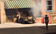 Arresto peligroso (joseteo2) Tags: car fire nikon police teo coche incendio policia 3100