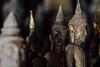 Buddhist Statues, Pak Ou Caves, Luang Prabang Laos (AdamCohn) Tags: 055kmtobanpakouinlouangphabanglaos banpakou buddha buddhism buddhist laos louangphabang mekongriver pakou pakoucaves geo:lat=20051486 geo:lon=102217647 geotagged