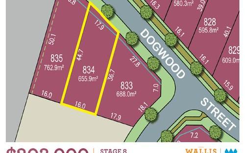 Lot 834, Dogwood, Gillieston Heights NSW