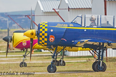 Jacob52, winter is over (joseluiscel (Aviapics)) Tags: jacob yak yak52 aerobatic acrobacia propeller radial casarrubios lemt