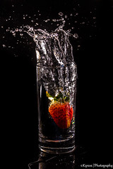 Falling strawberry (Κyrsos.) Tags: summer berry black bubbles clean clear creative dark drink eat fall fluid flute food fresh fruit glass liquid movement red splash spring still strawberry sweet tasty tube wash water wave white άνοιξη κόκκινο μαύρο νερό ποτήρι φράουλα action sigma1750mmf28