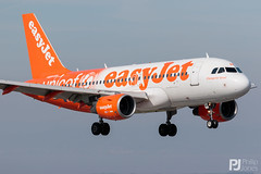 Photo of easyJet A319-100 G-EJAR Unicef Livery