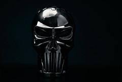 Punisher-020 (Jackx001) Tags: punisher jacknobre object macro steel skull lighter toronto ontario canada 2017 march light darkness justice blind