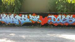 Does... (colourourcity) Tags: streetart streetartnow streetartaustralia graffiti melbourne burncity awesome colourourcity original does sas tsf joiner burner letters