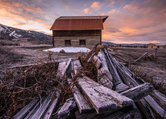 THE MORE BARN, Steamboat Springs (wilsonaxpe) Tags: colorado steamboatsprings more barn dawn themorebarn thesteamboatbarn
