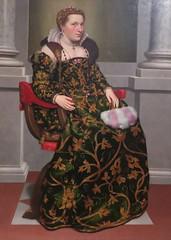 Moroni - Portrait of Isotta Brembati (c. 1553-53) (Elisa1880) Tags: rijksmuseum twenthe enschede nederland netherlands in het hart van de renaissance heart exhibition tentoonstelling kunst art italy italie north noorditalie giovan battista moroni portret isotta brembati portrait