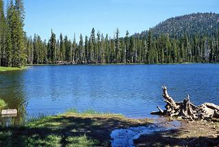 Summit Lake - Lassen Volcano National Park - California - 1984