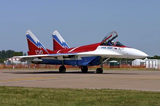 156 Mig-29OVT Russian Aircraft Corporation - MIG, Federal Unitary Enterprise  RIAT 15.7.06