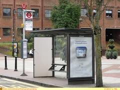 Transport for London Bus Stop (TheTransitCamera) Tags: uxbridge england unitedkingdom uk greatbritian town bus stop shelter