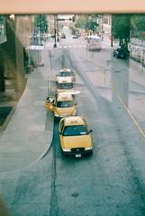 kc's sunshine (LeicaLauren) Tags: leica leicam4 taxi taxis cabs filmisnotdead colorfilm kansas city kansascity fuji superia xtra 400 m4 color