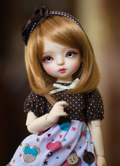 Mus (Mrs Poppie ✿) Tags: bambicrony ciaobella ciaobellavanilla bjd 16bjd tinybjd basic dolls