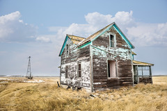 I Can't Find Nobody Home (DeVaughnSquire) Tags: saskatchewan vintage abandoned home homestead forgotten prairies canada backroads wood distressed rural landscape
