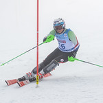 April 15th, 2017 - Andreas Amdahl of Norway takes third place in the U16 McKenzie Investments Whistler Cup Mens Slalom - Photo By Scott Brammer - coastphoto.com