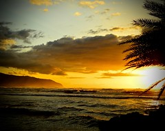 Haliewa Sunset (jijake1977) Tags: haleiwa north shore oagu oahu sunset photography vacation hawaoo island tropical