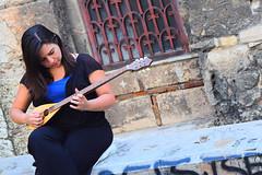 Greek woman playing bouzouki (Nicolay Abril) Tags: atenas athens greece αθηνα ελλάδα athènes grèce athen griechenland atene grecia atina yunanistan
