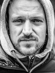 Angel-T  explored 2017-04-17 (holgerreinert) Tags: 2017 april ostern bw blackandwhite schwarzweis nocolor people face street gesicht portrait menschen cool nice beauty abigfave