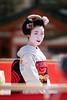 Maiko (byzanceblue) Tags: 京都 祗園甲部 多麻 祇園 舞妓 花街 kyoto maiko geisha gion japan japanese woman girl female beauty beautiful cute color portrait smile bokeh kimono 市晴