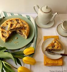 Crostata pasquale della nonna (Teresamelie1988) Tags: crostata ricotta cioccolatofondente pastafrolla pasqua