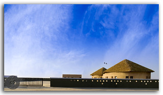 Huts at great Rann of Kutch (Rann Utsav), Gujarat