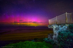 New Years Aurora (Lachlan Manley Photography) Tags: newyears aurora auroraaustralis southernlights southernaurora lookout