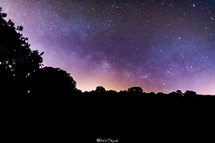 The colors of the way (raulmiguelmantilla) Tags: colours milky way stars night