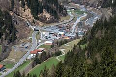 The Longest Railway Tunnel of the World (Bergfex_Tirol) Tags: oesterreich brenner nordtirol bergfex northtyrol stjodok stafflacherwand tyrol austria österreich alpen alps tirol baustelle constructionsite tunnel bbt photo aerialphoto