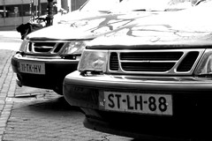 brothers in arms (acabrinkman) Tags: saab q7 pentaxq7 05toylens ricoh street utrecht