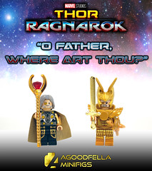 """""""Where You at Odin?"""" [A DAY IN THE LIFE] [MCU] [MOC] (agoodfella minifigs) Tags: lego marvel marvellego legomarvel minifigures marvelcomics comics heroes odin thor ragnorak mcu adayinthelife"""