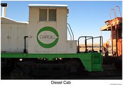Diesel Cab CXLIX (Robert W. Thomson) Tags: crgx cargill emd diesel locomotive fouraxle switcher switchengine endcabswitcher sw1 train trains trainengine railroad railway ogden utah