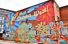 Mural, 117 Sheridan Avenue, Toronto, ON (Snuffy) Tags: murals 117sheridanavenue toronto ontario canada streetartgallery level1photographyforrecreation