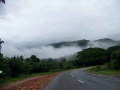 Cloudy Road (Malini Bhat) Tags: mangalore road clouds greenery green india indian life