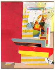 Collaboration with Fred-Free (started by AB, finished by FF) (Armand Brac) Tags: collage armandbrac art artwork abstract handmade collageart cutpaste mixedmedia mixmedia paper cutandpaste paperart analog