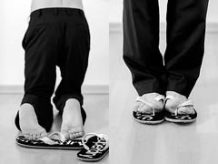 Flip Flops 2 (JeyDee1997) Tags: boy feet barefoot toes flip flops soles male foot