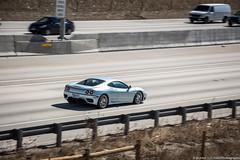 Ferrari 360 (Hunter J. G. Frim Photography) Tags: supercar colorado ferrari 360 modena silver grigio nurburgring v8 italian coupe ferrari360 ferrari360modena