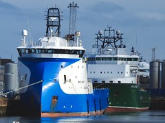 NAO Power & Havila Aurora Dockside Aberdeen Harbour Scotland 22/3/17 (Dano-Photography) Tags: nordicamerican xbow bow ulstein blue autumn winter summer spring tugboat tug boat ship dano offshoresupplyvessel offshoresupplytug offshoresupplyship havilaaurora naopower northeastsupplyship harbour seaport dockside psv dockwise aberdeenunionstreet offshorevesselsscotland oilrigs offshore merchantnavy aberdeen 2017 ecosse scotia caledonia highlands scotland scottish ships vessels boats aberdeenscotland northeastsupplyships northeastsupplyvessels offshoresupplyships offshoresupplyvesselstugboat port nikon p610 navy merchant oilfields candid amateur