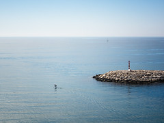 Remando (monsalo) Tags: mediterraneo moraira monsalo