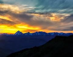 Fire & Ice (Philip Kuntz) Tags: mtstuart theenchantments tablemountain sunset sundown dusk ellensburg washington