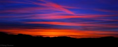 A North Leitrim Sky Line. (padraig thornton) Tags: panorama sky clouds lines colorful landscape blue red sun sunset evening lowlight nature light outdoor mothernature padraig thornton manorhamilton coleitrim ireland mountains greatphotographers