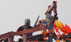 The Final Man (W. Navarre) Tags: lego battle epic fight w navarre final round tt r6 cowboy knights mine abyss death duel eh