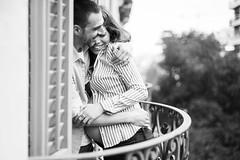 ({Larysa}) Tags: pareja bn blancoynegro blackandwhite bw retrato amor love pregnancy embarazo people canon 50mm