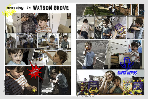 One day in Watson Grove