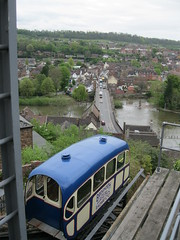 Bridgnorth Cliff Railway (andreboeni) Tags: bridgnorth cliff railway funicular railroad tram carriage coach shropshire