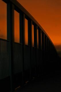M8 Bridge_sunset