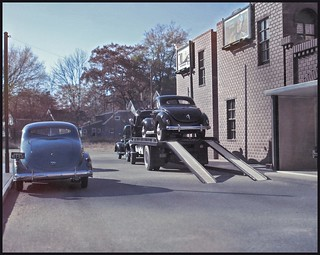 One from the Vault - '39 Ford on a Flatbed