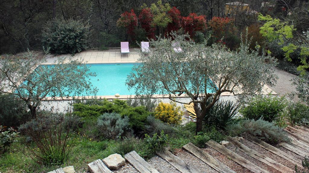 La piscine de la Bastide Saint-Bernard