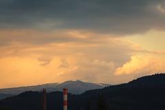 Kandel (oliko2) Tags: kandel snow spring landscape mountain germany sunset clouds sky nikond7100 nikkor85mmf18